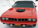 1971 Plymouth Hemi Cuda Convertible Tribute