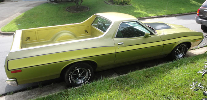 1972 Ford Ranchero Gt Cars On Line Com Classic Cars For Sale