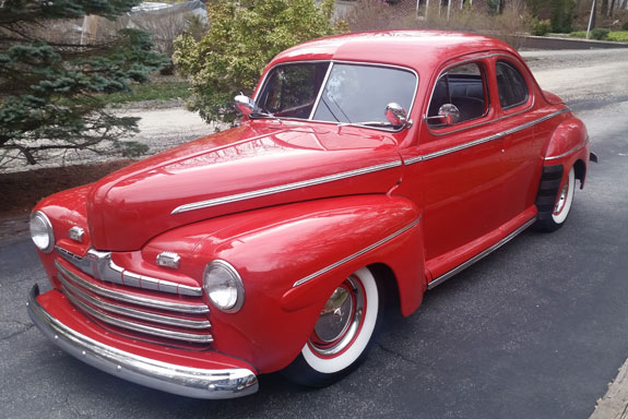 1946 Ford Deluxe Business Coupe Cars On Line Com Classic Cars