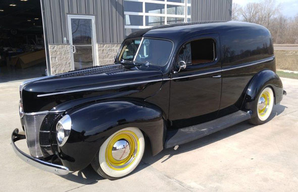 1940 Ford Delivery Cars On Line Com Classic Cars For Sale