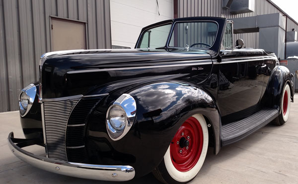 1940 Ford Convertible Cars On Line Com Classic Cars For Sale