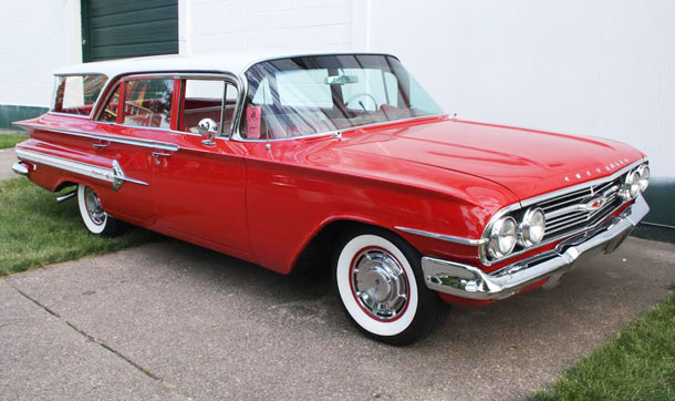 1960 Chevy Nomad Station Wagon Cars On Line Com Classic Cars For