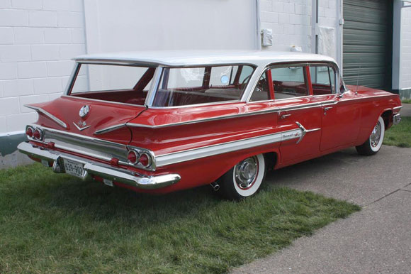 1960 chevy nomad station wagon. Black Bedroom Furniture Sets. Home Design Ideas