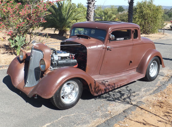 1934 Plymouth Coupe Gasser | Cars On Line com | Classic Cars