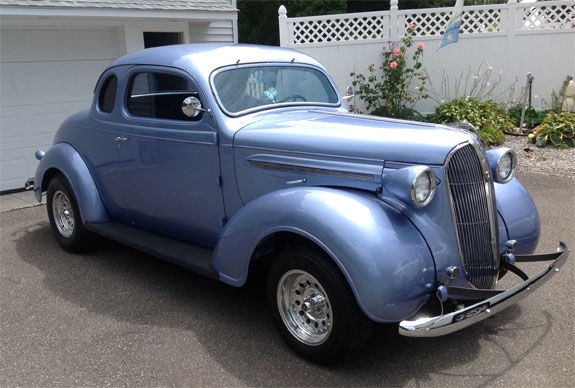 1937 Plymouth P3 Coupe