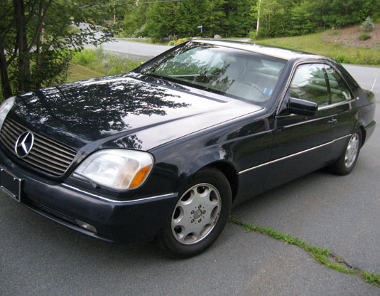 1996 Mercedes S-600 Coupe