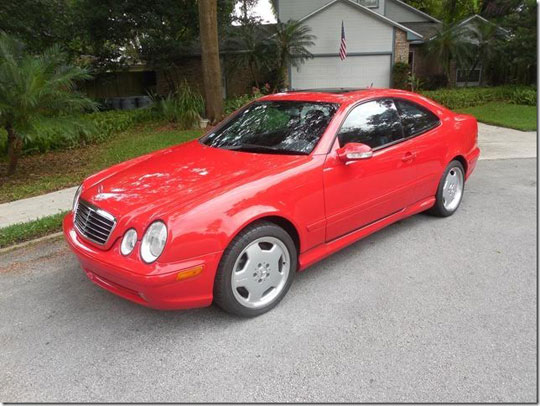 2002 Mercedes CLK55 AMG Coupe