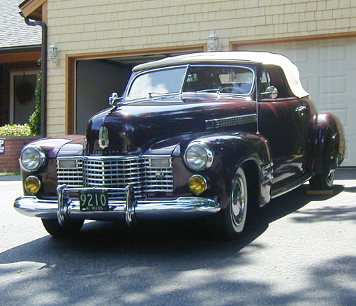 1941 Cadillac Convertible Coupe