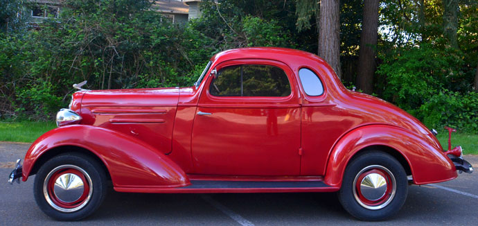 1935 Chevy Master 5 Window Coupe