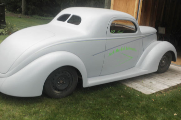1937 Ford 2 Door Coupe
