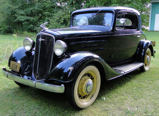1934 Chevy 3-Window Coupe