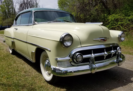 1953 Chevy 210 Sport Coupe