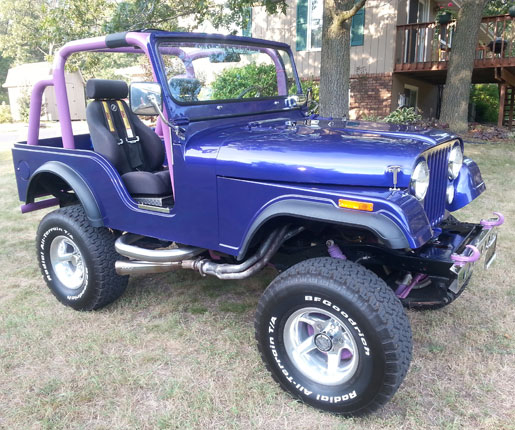 1975 Willys Jeep CJ5