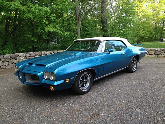 1972 pontiac lemans convertible cars on line com classic cars