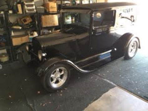 1929 Ford Model A 2 dr Panel Delivery