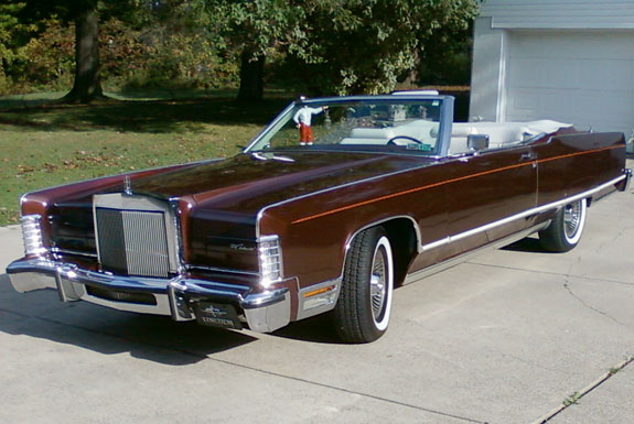 1977 Lincoln Continental Convertible