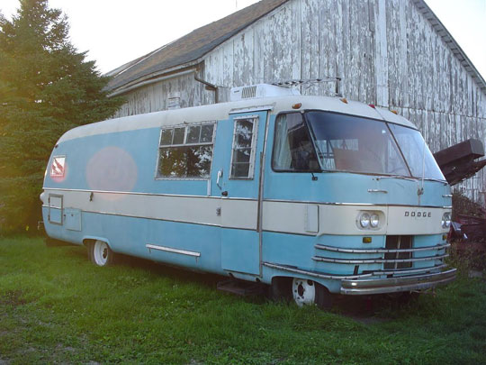 1964 Dodge Travco RV | Cars On Line com | Classic Cars For Sale