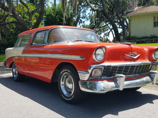 1956 Chevy Nomad Bel Air
