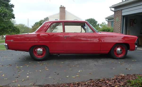 1967 Chevy Nova 2 Door Sedan