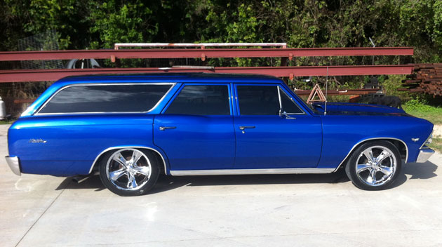 1966 Chevelle Malibu Station Wagon