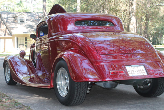 1934 ford all steel 3 window coupe for 1934 ford 3 window coupe steel body