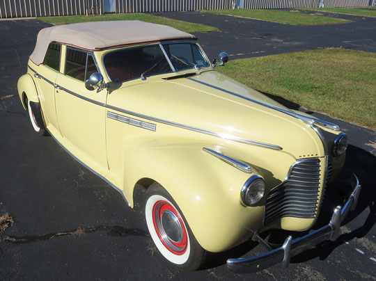 1940 Buick Roadmaster Convertible