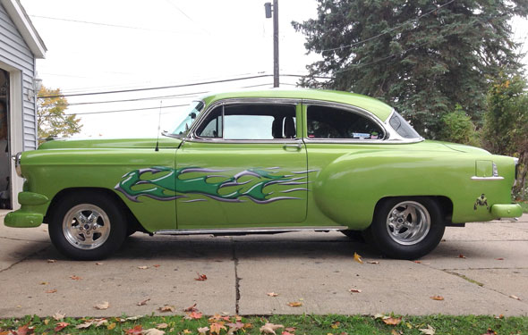 1954 Chevy Bel Air Pro Street