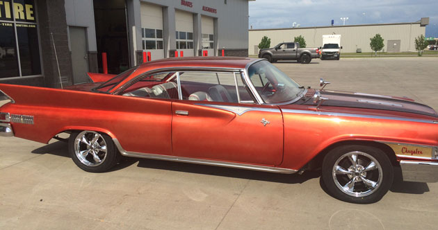 1961 Chrysler Newport 2 door hardtop