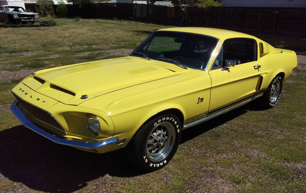 1968 Shelby GT 500 KR Mustang