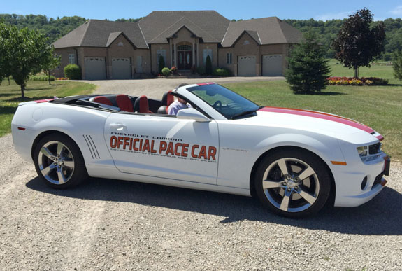 2011 Camaro Indy Pace Car Convertible