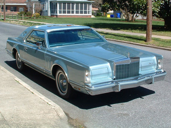1978 Lincoln  Mark V Diamond Jubilee Edititon