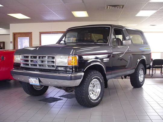 Automotive Air Conditioning >> 1990 Ford Bronco XLT