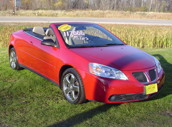 2006 pontiac g6 gtp convertible. Black Bedroom Furniture Sets. Home Design Ideas