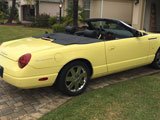 2002 Ford Thunderbird Convertible Replica