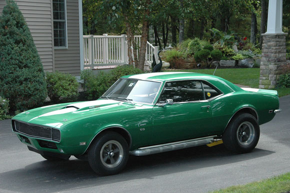 1968 Camaro Motion Rs Ss Copo