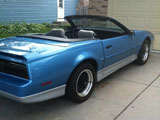 1988 Pontiac Trans Am Convertible