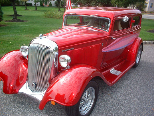 1933 Plymouth 2 Door Sedan