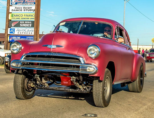 1951 Chevy Gasser Business Coupe