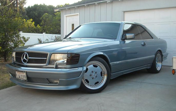 1986 mercedes benz 560 sec for 1986 mercedes benz 560 sec