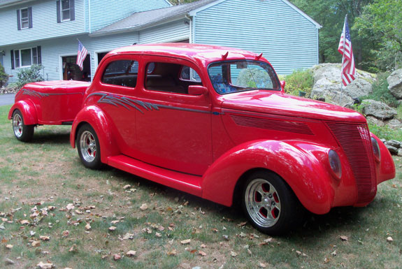1937 ford 2 door sedan humpback for 1937 ford two door sedan