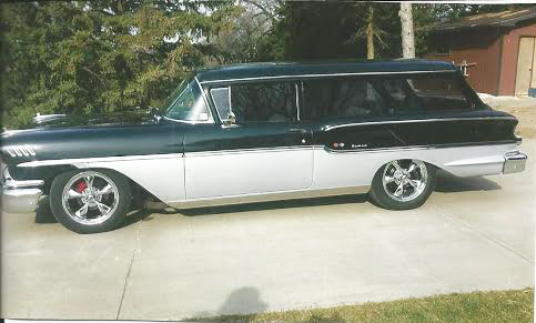 1958 Chevy Yeoman Wagon