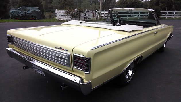 1966 Plymouth Sport Satellite Convertible