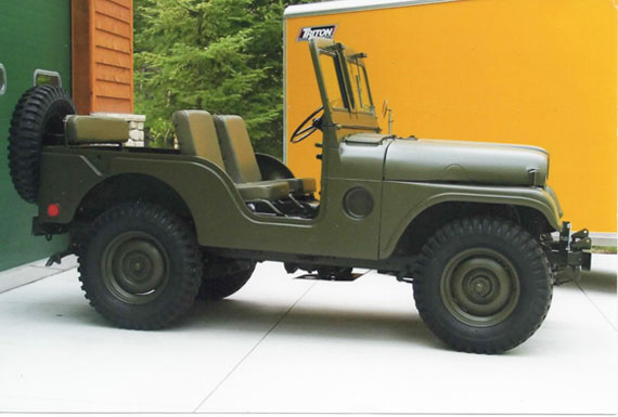 1953 Willys Jeep M38A1C