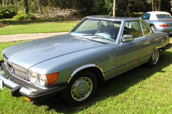 1976 Mercedes 450 SL Roadster