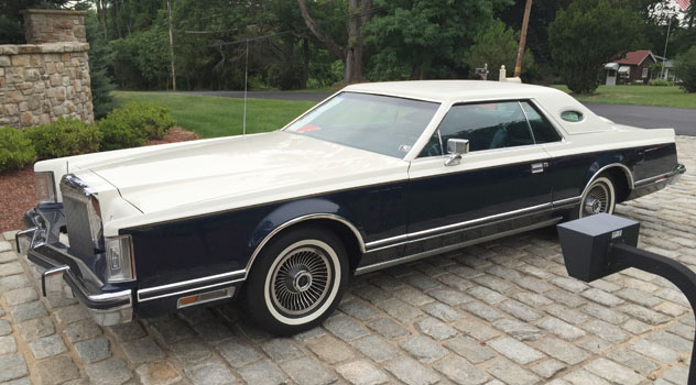 1979 Lincoln Continental Mark V Bill Blass