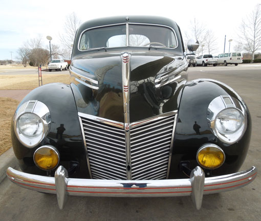 1939 Mercury 99A Coupe Sedan