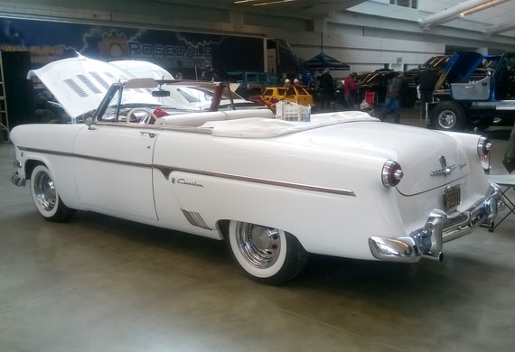 1954 ford skyliner convertible