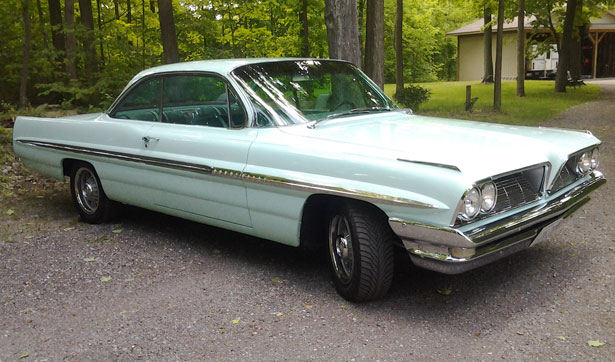 1961 Pontiac Bonneville Bubble Top
