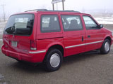 1992 Plymouth Voyager Van
