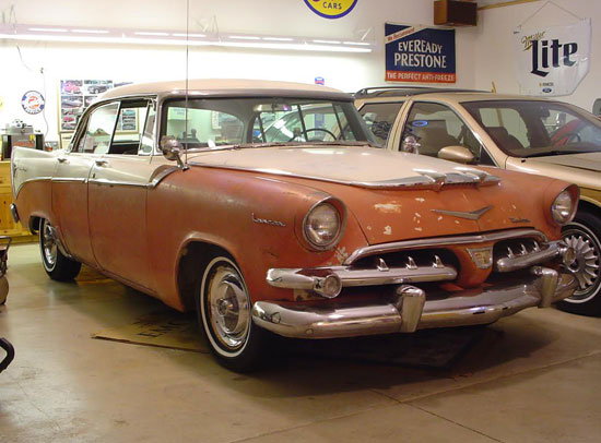 1956 dodge custom royal lancer for 1956 dodge custom royal 4 door